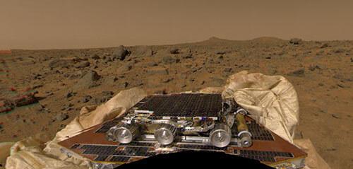 Pathfinder landing site