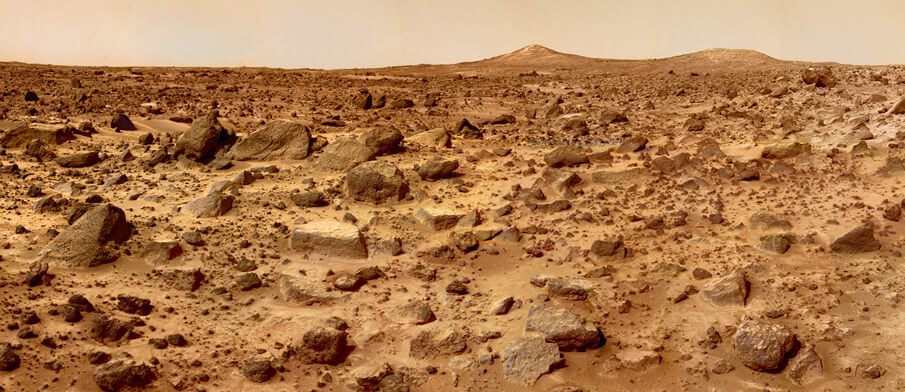 Mars Twin Peaks