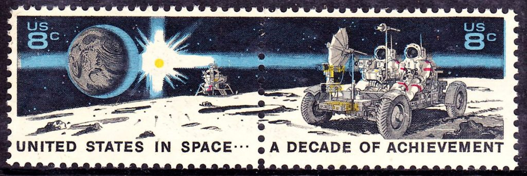Apollo 15 stamp