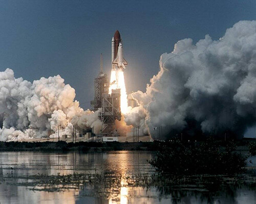 STS 71 Liftoff