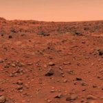 first color image taken on mars